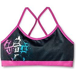Girls' Seamless Camisole Sports Bra (Small (6), TMNT)