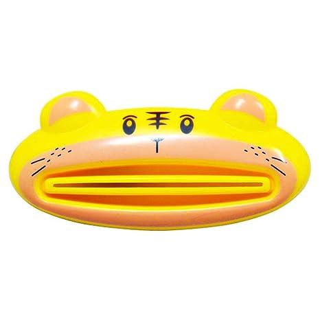 Morza Linda multifunción Animal Pasta de Dientes exprimidor Inicio Baño Limpiador Facial dispensador de Color al