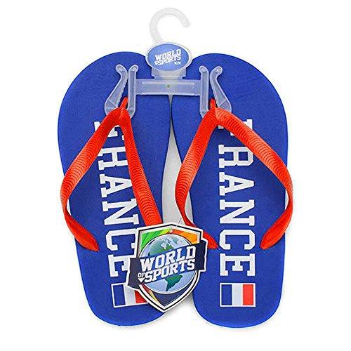 Idrottsvärlden Flip Flops - Frankrike (x-small)