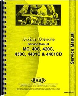 john deere 420 crawler service manual 1956 1958 john deere rh amazon com John Deere Model A John Deere 430C