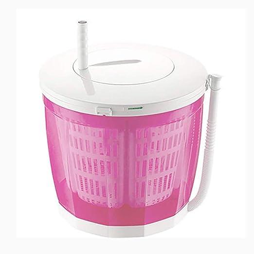 YXWxyj Lavadoras Mini Lavadora portátil, deshidratadora Manual ...