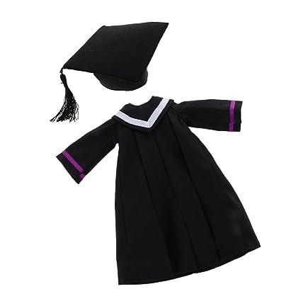 Amazon.es: Toygogo Vestido Académico De La Graduación del ...