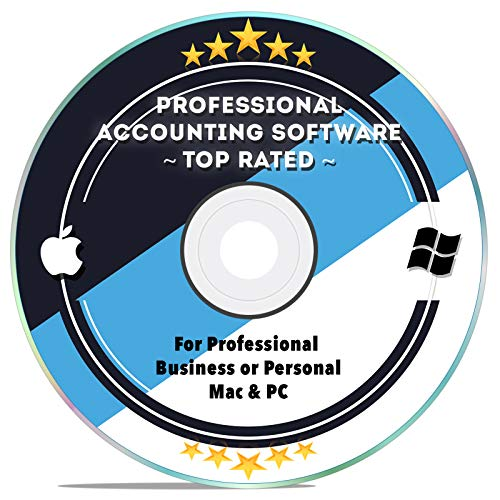 Accounting Bookkeeping Tax Preparation Software for Small Business, Personal, Home 2018 2019 Simple for Windows PC & MAC Computers CD Disk