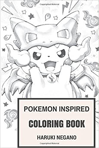 adult coloring book pokemon coloring pages1. draw background pokemon ...
