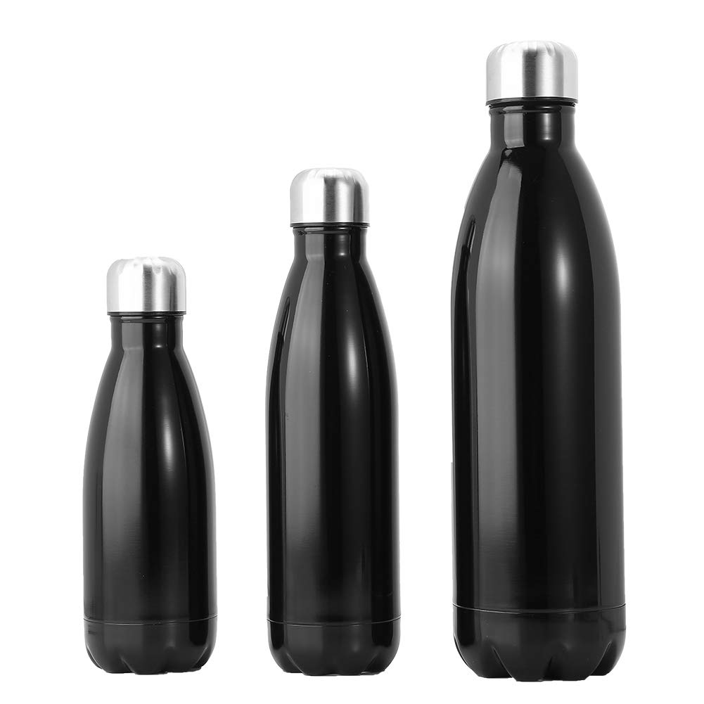 Botella de Vac/ío Aislamiento Taza de Agua de Vac/ío Taza de Agua de Acero Inoxidable para Correr Ciclismo Senderismo Fitness Camping