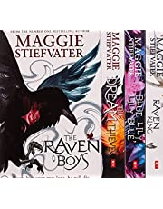 The Raven Cycle Series 4 Books Collection Box Set by Maggie Stiefvater (The Raven King, Blue Lily Lily Blue, The Dream Thieves, The Raven Boys)