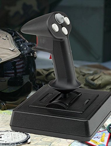 CH Products Flightstick Pro USB 4-Button Joystick 8-Way Hatswitch