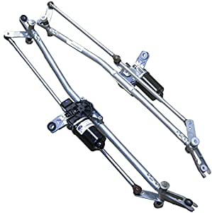Apdty 103926 windshield wiper motor and linkage for Dodge ram 1500 wiper motor
