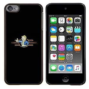 Stuss Case / Funda Carcasa protectora - Minimalist Vault Boy - Apple iPod Touch 6 6th Touch6