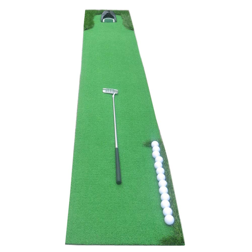 WENZHE ゴルフマット パターマット 練習器具 ネット ポータブル パット トレーナー 折りたたみ可能 家族 オフィス ボールを返すことができる、 2のスタイル 300X50CM A B07P48VTRD