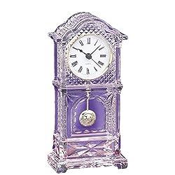 Pendulum Office Desk Crystal Quartz Clock