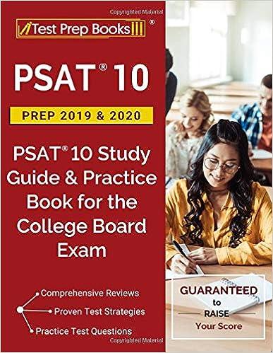 Best Psat Prep Book 2020 PSAT 10 Prep 2019 & 2020: PSAT 10 Study Guide & Practice Book for