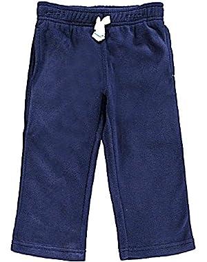Carter's Baby Boys Microfleece Active Pants - Navy