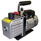 Electric Rotary Vane Vacuum Pump Single Stage 2.5CFM