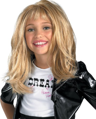 Hannah Montana Deluxe Child Wig - Rock Diva Child Wig