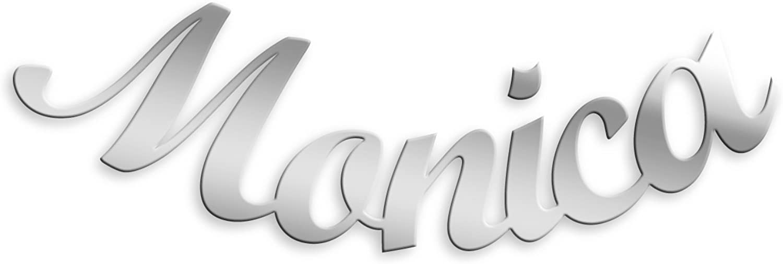 Mono Orecchino nome argento 925 rodiato anallergico gioielli regalo donna ragazz