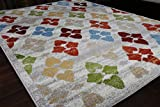 Paris Collection Oriental Carpet Area Rug Cream Green Red Blue 5051beige 2x8 2'2x7'2