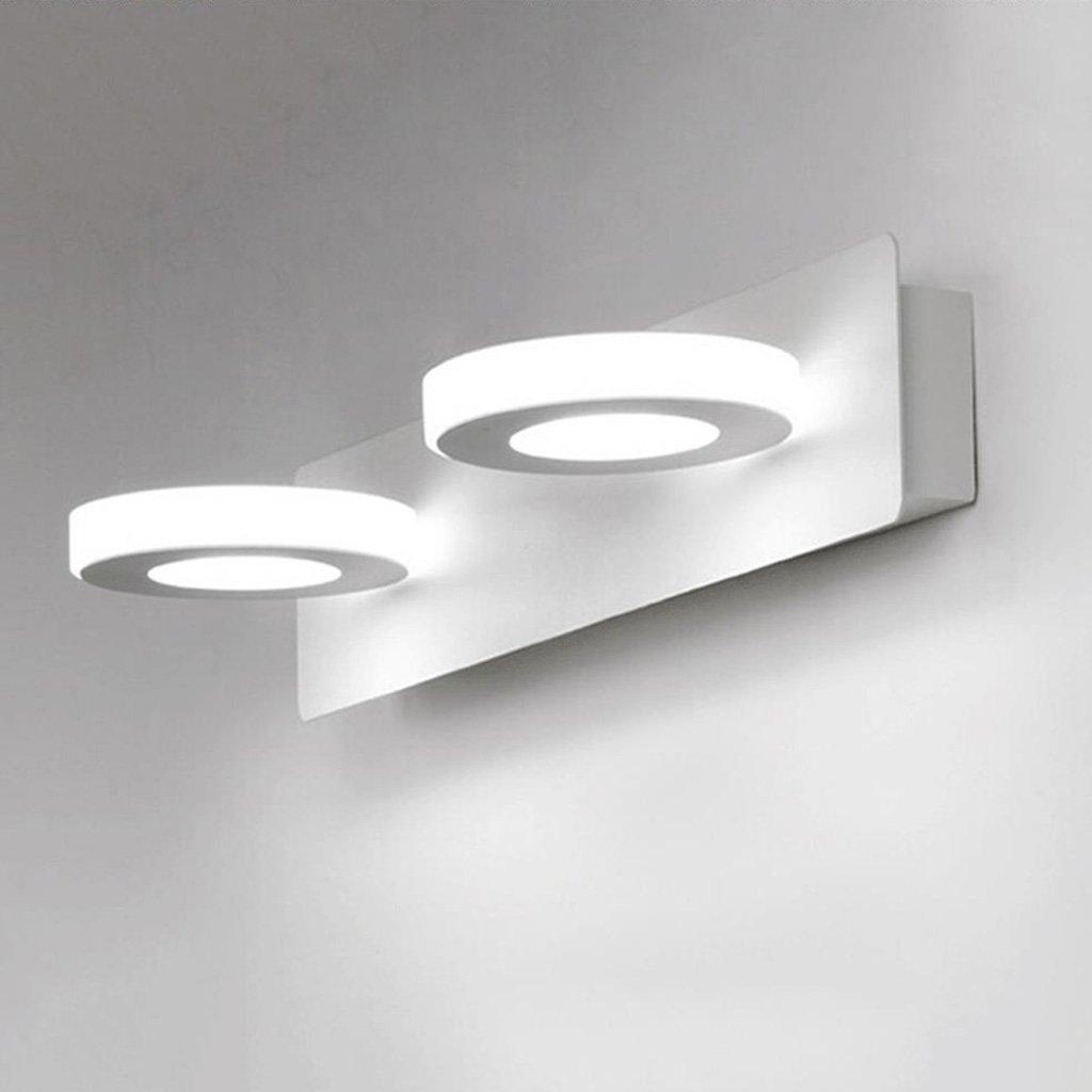 Weiß-6w32cm badezimmerlampe Spiegel Vorne Lichter, Spiegel Kabinett Lichter Led Nachttisch Lampe Badezimmer Wand Lampe Moderne Schlafzimmer Badezimmer (Farbe   Weiß-6w32cm)