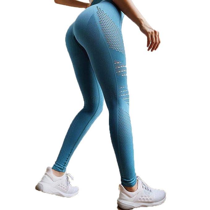 Womens Seamless Yoga Pants High Waist Leggings Push Up Gym Fitness Sports Wear
