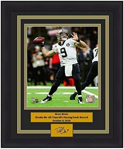 16326d5a9c1 Amazon.com: Saints Drew Brees Breaks Passing Record 8