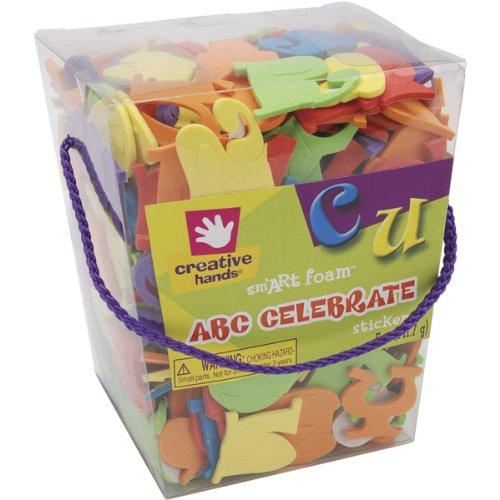 (Foam Stickers 5-Ounce, Celebrate ABC)