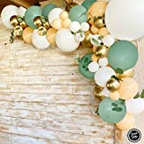 Sweet Baby Co. Sage Green Balloon Garland Arch Kit