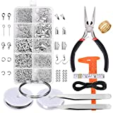 Arts & Crafts : Paxcoo Jewelry Making Supplies Kit - Jewelry Repair Tool with Accessories and Beading Wires