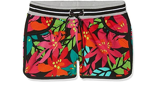 boboli 415066 Shorts, Multicolor (Estampado Tropical), One ...