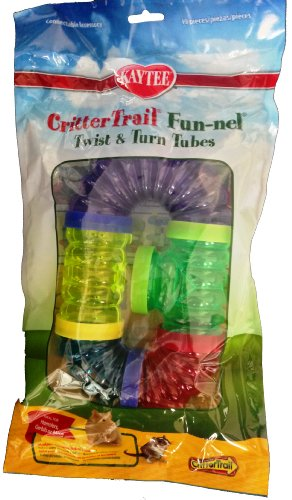 Kaytee CritterTrail Fun Twist and Turn Value Pack, Colors Vary by Kaytee (Image #4)