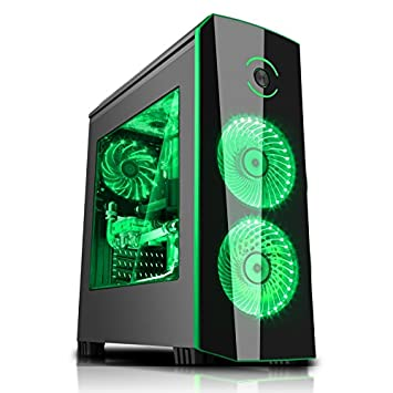 PC Computer fijo montado Gaming Intel Core i5 7400 3,0 GHz hasta a 3.5 GHz Turbo Boost ...