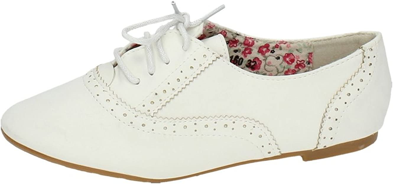 ZAPATOP PA160 Zapatos Blucher NIÑA NIÑA Zapato COLEGIAL: Amazon.es ...