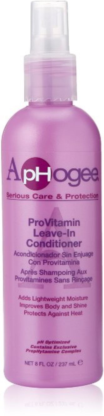 Aphogee Pro-Vitamin Leave-In Conditioner, 8 oz (Pack of 3)