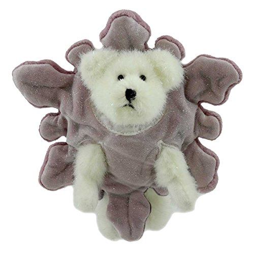 (BOYDS BEARS PLUSH Sparkle CRYSTALFROST Fabric Winter Snowflake 904455 Rfb)