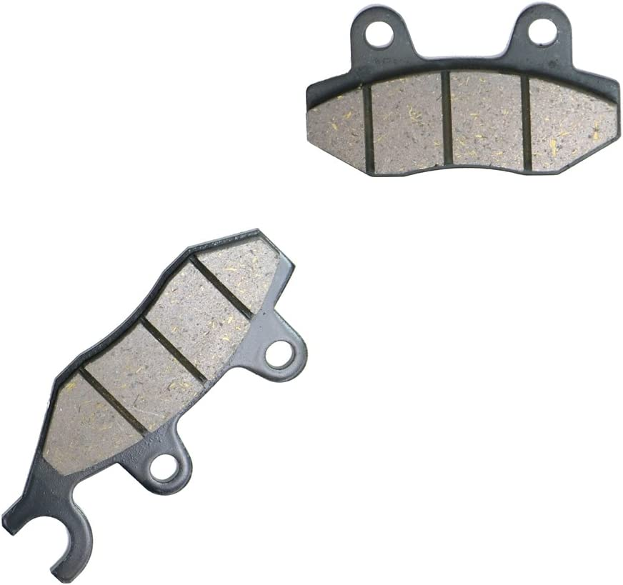 CNBK Semi-met Brake Pad Set for KAWASAKI ATV Bike KVF750 KVF 750 E8FA Brute Force 4x4 Hardwoods Green HD cc 750cc 08 09 10 11 12 13 14 15 2008 2009 2010 2011 2012 2013 2014 2015 4 Pads