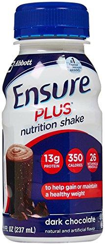ensure-plus-rich-dark-chocolate-shake-six-8-ounce-bottles-pack-of-4