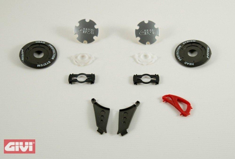 Givi visiera Meccanismo completa destra sinistra per h10.4/F