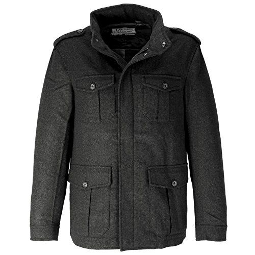 Canterbury of New Zealand Men's Soho Jacket, Charcoal, X-Large (Clothing Canterbury)