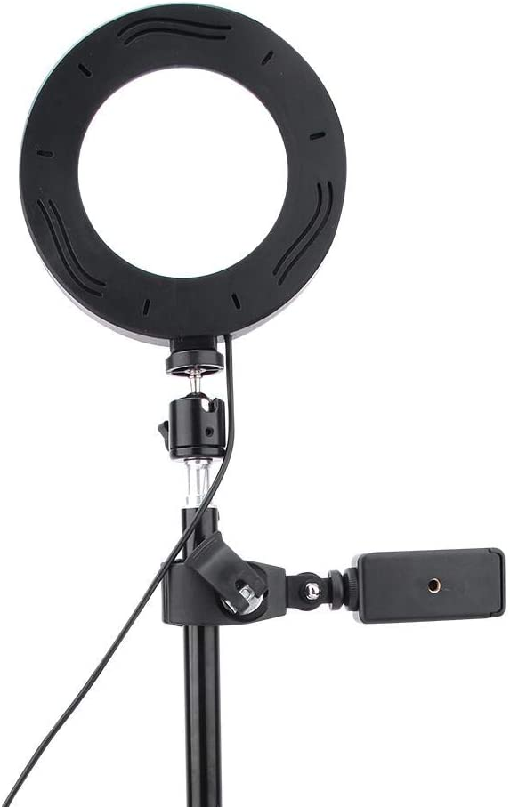 Oumij Ring Light 6inch USB LED Video Light Dimmable Ring Lamp for Photography Selfie Live Studio for YouTube Video and Makeup