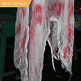 Jolik Creepy Cloth Halloween Decorations Party Supplies Creepy Cloth Decorative 8.3ft X 79''