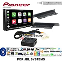 Pioneer AVH-W4400NEX Double Din Radio Install Kit with Wireless Apple CarPlay, Android Auto, Bluetooth Fits 2003-2006, Toyota Tundra, 2005-2007 Toyota Highlander (With Factory JBL System)