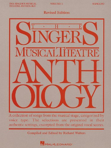 The Singer's Musical Theatre Anthology Volume 1 - Soprano - Book Only