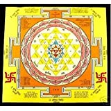 Sri Yantra Good Luck and Prosperity Hindu Sriyantra Amulets Mantra Tantra Ast...