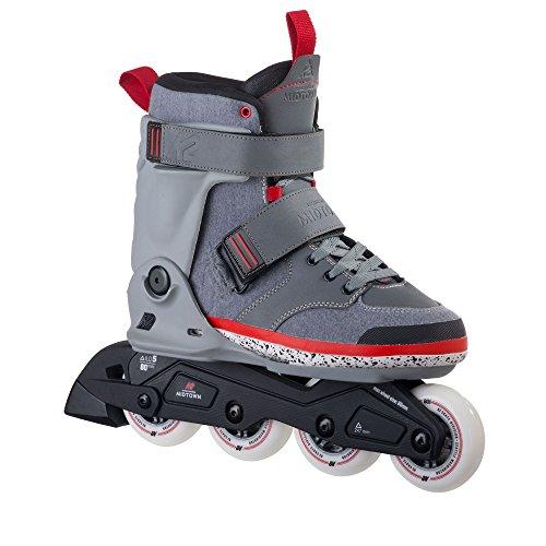 K2 Aggressive In Line Skates - K2 Skate Midtown Inline Skates, Gray, 7