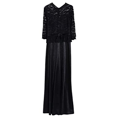 Aixia Wedding Party Vintage Lace Evening Dress, Make You Look Slim ...