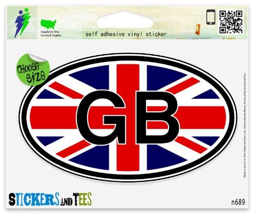 union jack sticker - 6