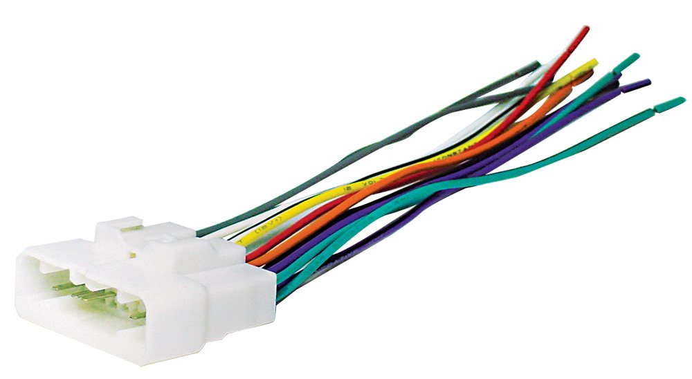 51GeK9NKc2L._SL1000_ radio wiring harnesses amazon com wiring harness for radio at aneh.co