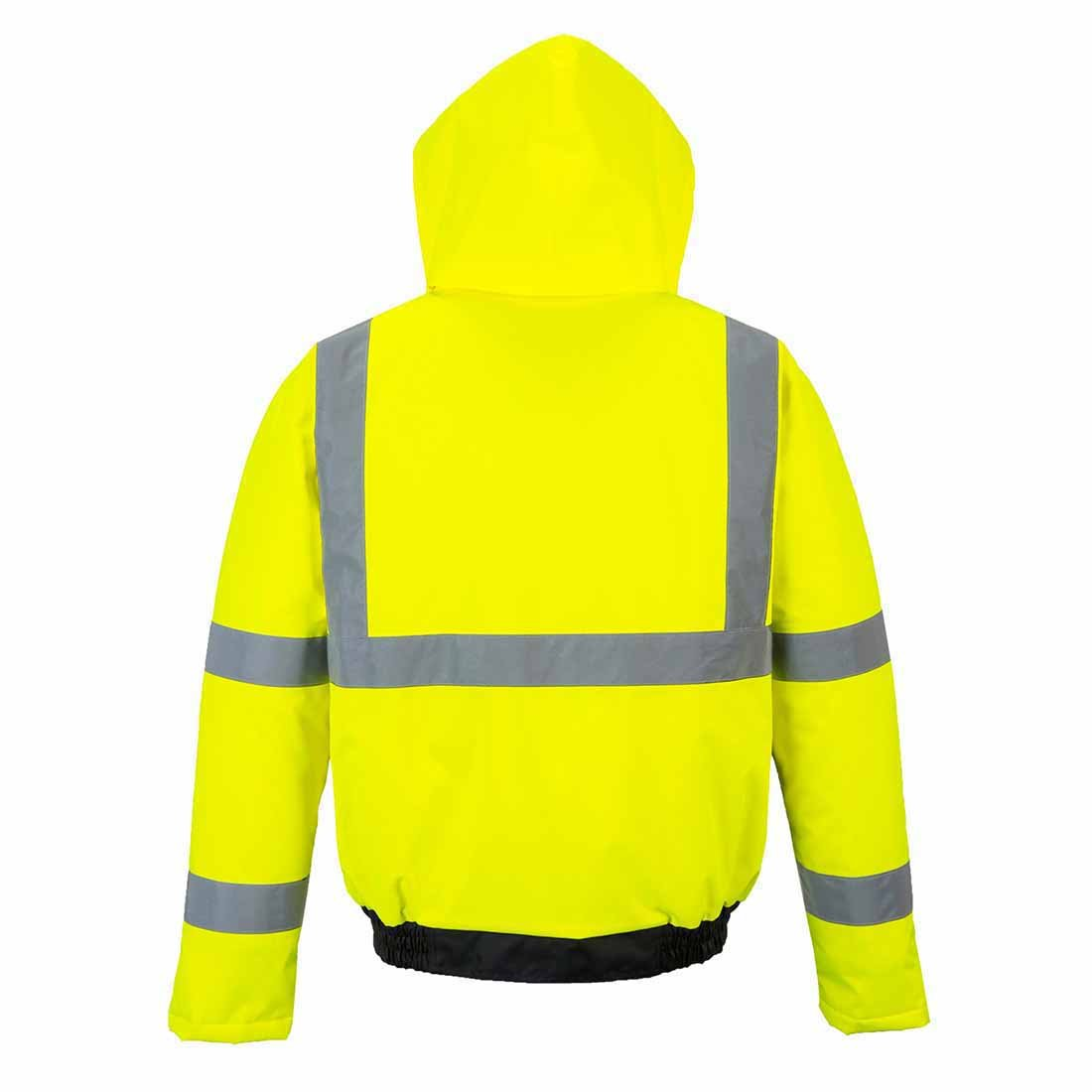 Regular Portwest S363YBRXXXL 300D industry Mens Hi-Vis Value Bomber Jacket Size 3X-Large Yellow//Black