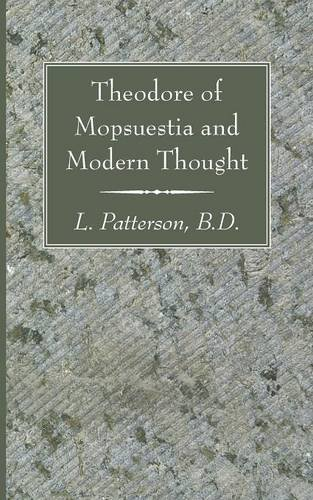 Download Theodore of Mopsuestia and Modern Thought pdf