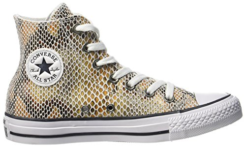 Adulto Black a White 101 Natural Alto Collo Hi Sneaker Black Multicolore Converse Natural White Ctas Unisex qtYvwY