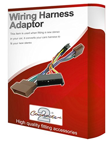 Puma CD radio stereo wiring harness adapter lead loom: Amazon.co.uk: Electronics